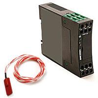 Module temperature sensor with temperature converter